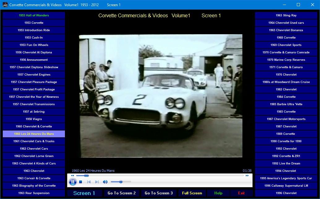 Corvette Ads 1953-2020  digiital collection  Camaro Corvair Chevrolet