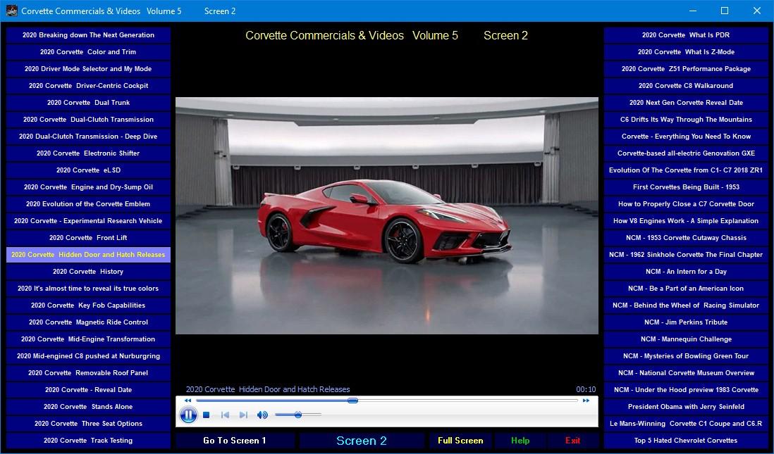 Best Commercials 2020.Details About Chevrolet Corvette Tv Commercials Promotional Videos Volume 5 2020